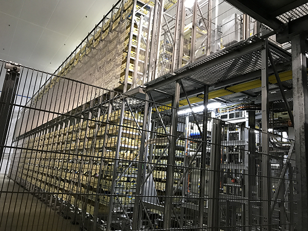 Stockage automatique
