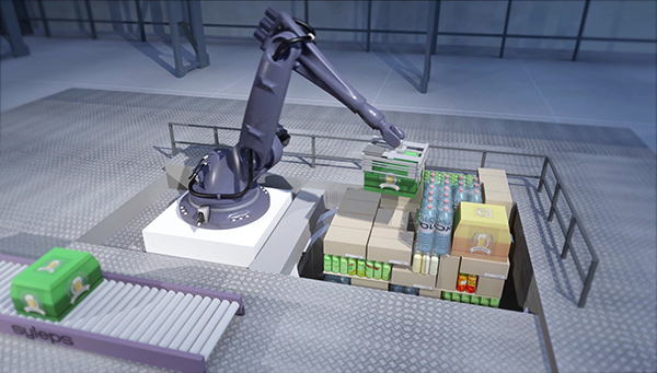 Robotic heterogeneous palletization