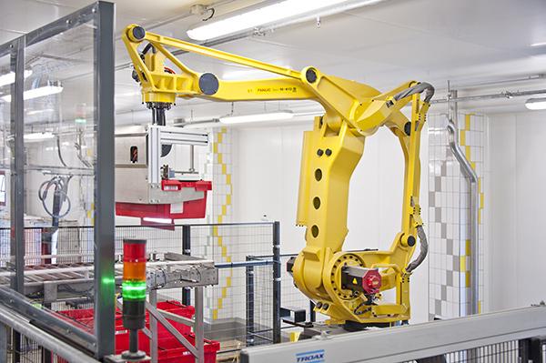 Palettisation robotisée