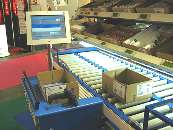 Order picking stations