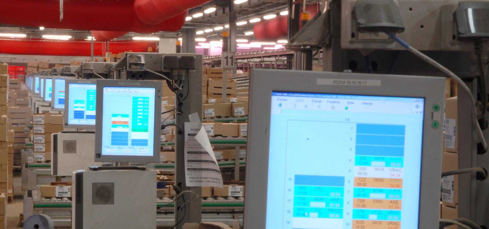 SOCOPA – Informatisation et automatisation de la plateforme de Cherré